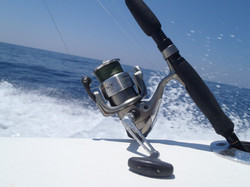 Bent Charters offshore light tackle