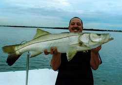 Snook catch Inshore Fishing trip