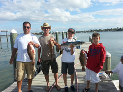 Grouper Snapper and a Kingfish
