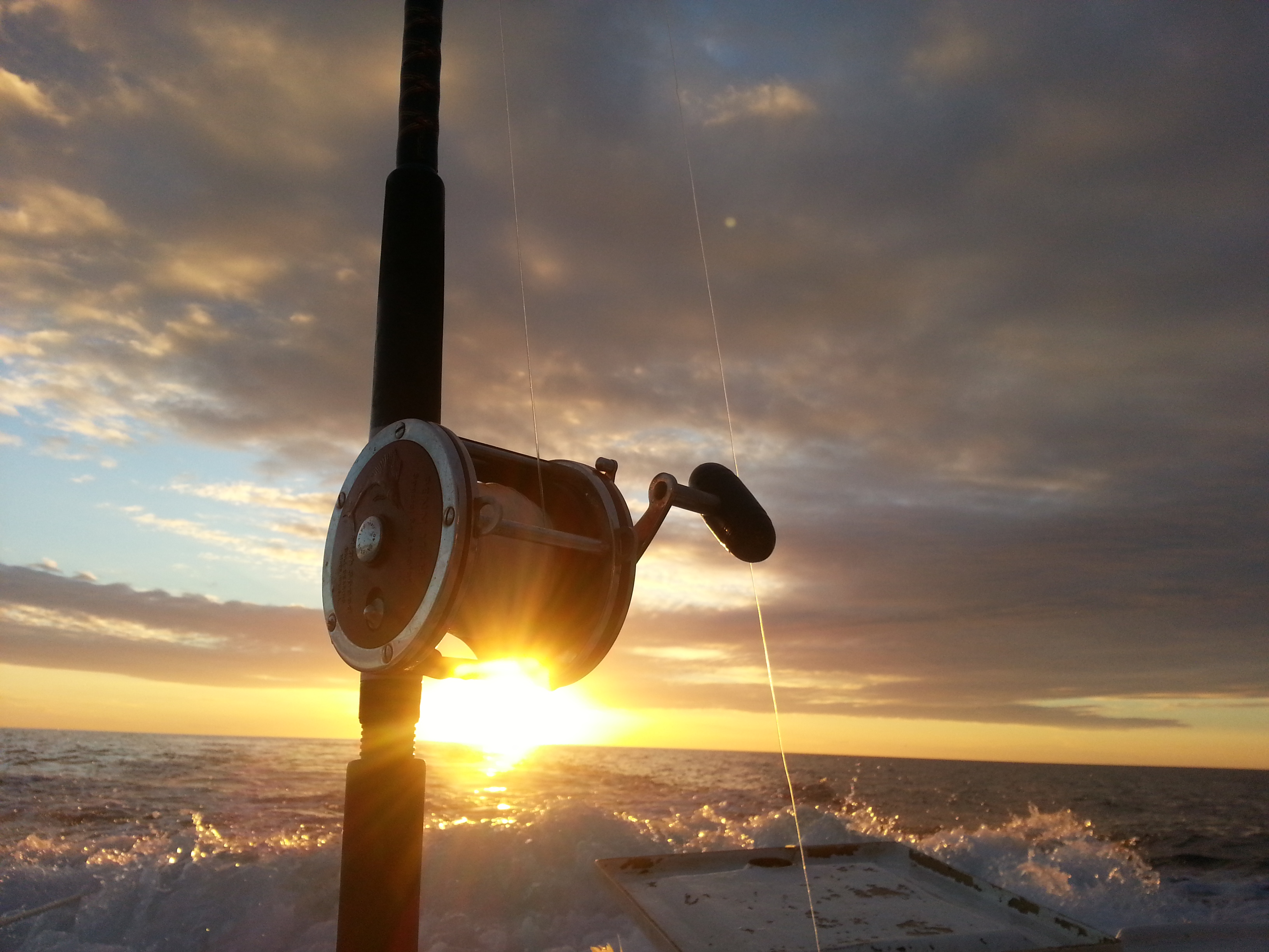 deep sea fishing Penn reel