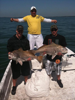 Drum fishing charters florida style