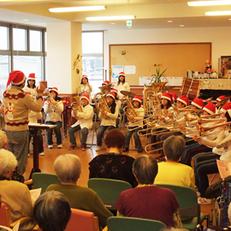 近隣小学校の金管楽器演奏会