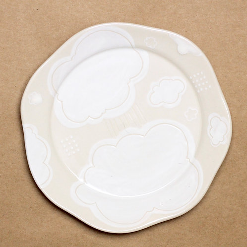 "9"" Cloud Nine Plate"
