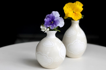 Cloud 9 Bud Vases
