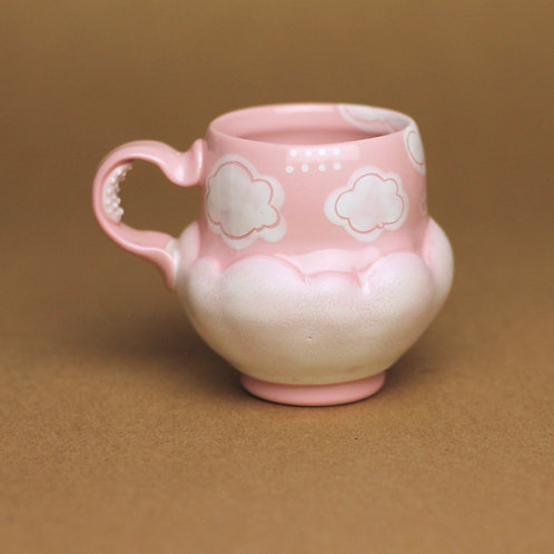 4oz Piglet Pink Mini Mug