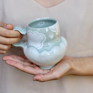 Morning Mist mug