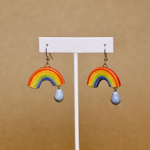Double Rainbow Earrings