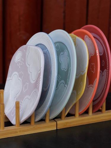 Rainbow Plate Set