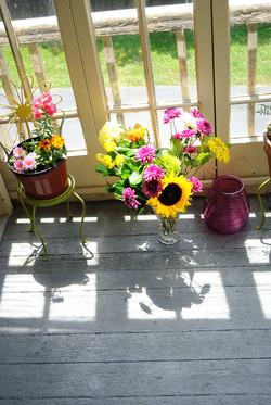 Back Porch Flowers