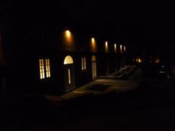 Mews at night