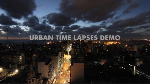 Urban Time Lapses Demo