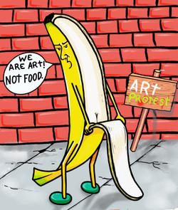 Banana Protest