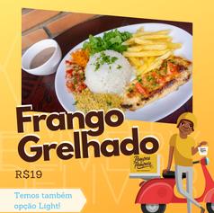 Filé de Frango Grelhado