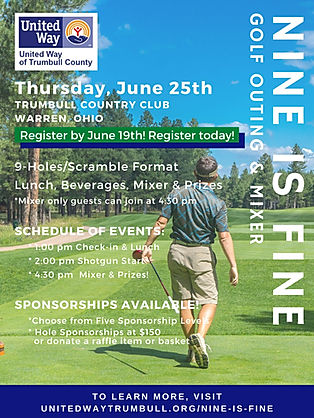 nine is fine golf outing & mixer for Con