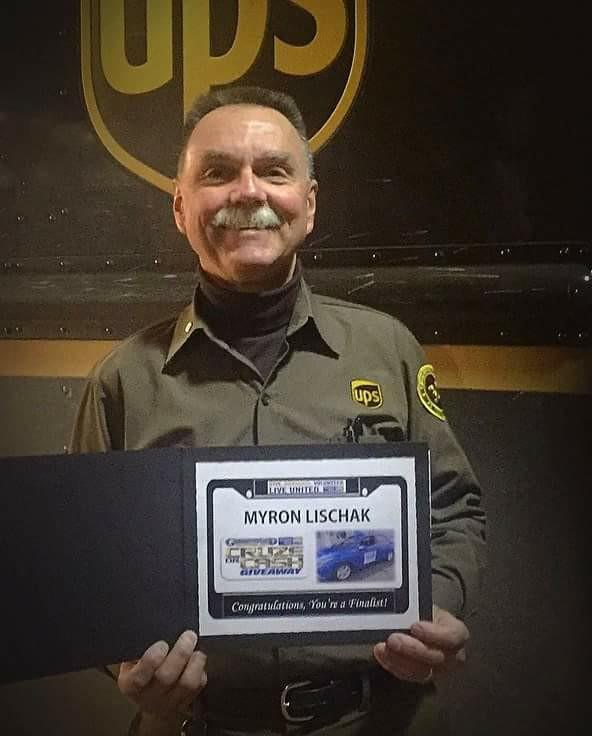 Myron Lischak, UPS