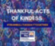 Thankful Acts of Kindness Square Pic for
