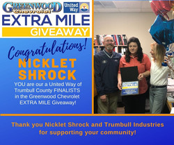 2020-4 Greenwood Extra Mile Finalist for