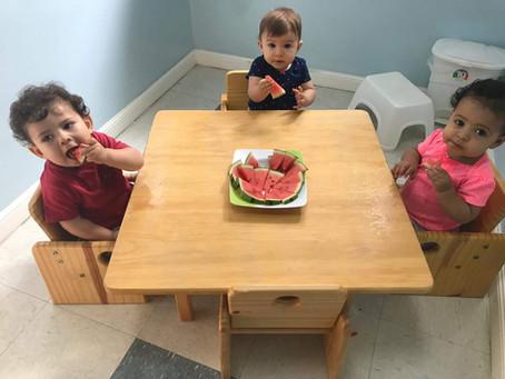 Alimentação na Escola Pindorama é item essencial!