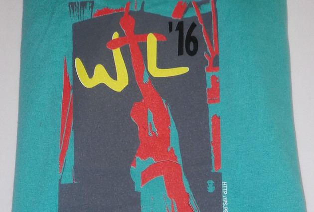 2016 WTL Live recording Tee (front)