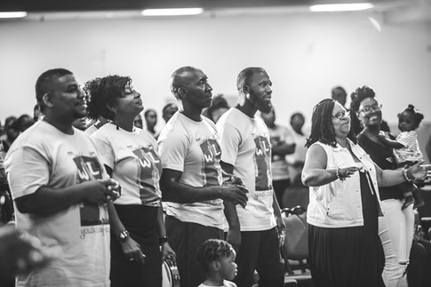 Host church and guests from Atlanta are ready to see what their youth learned this week