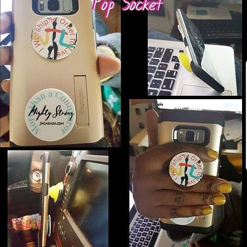 WTL/ Mighty Strong Pop socket