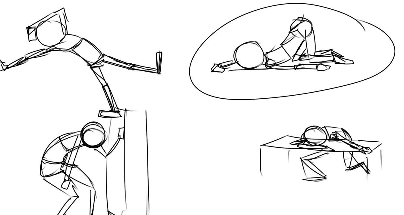 Exhausted Sketches