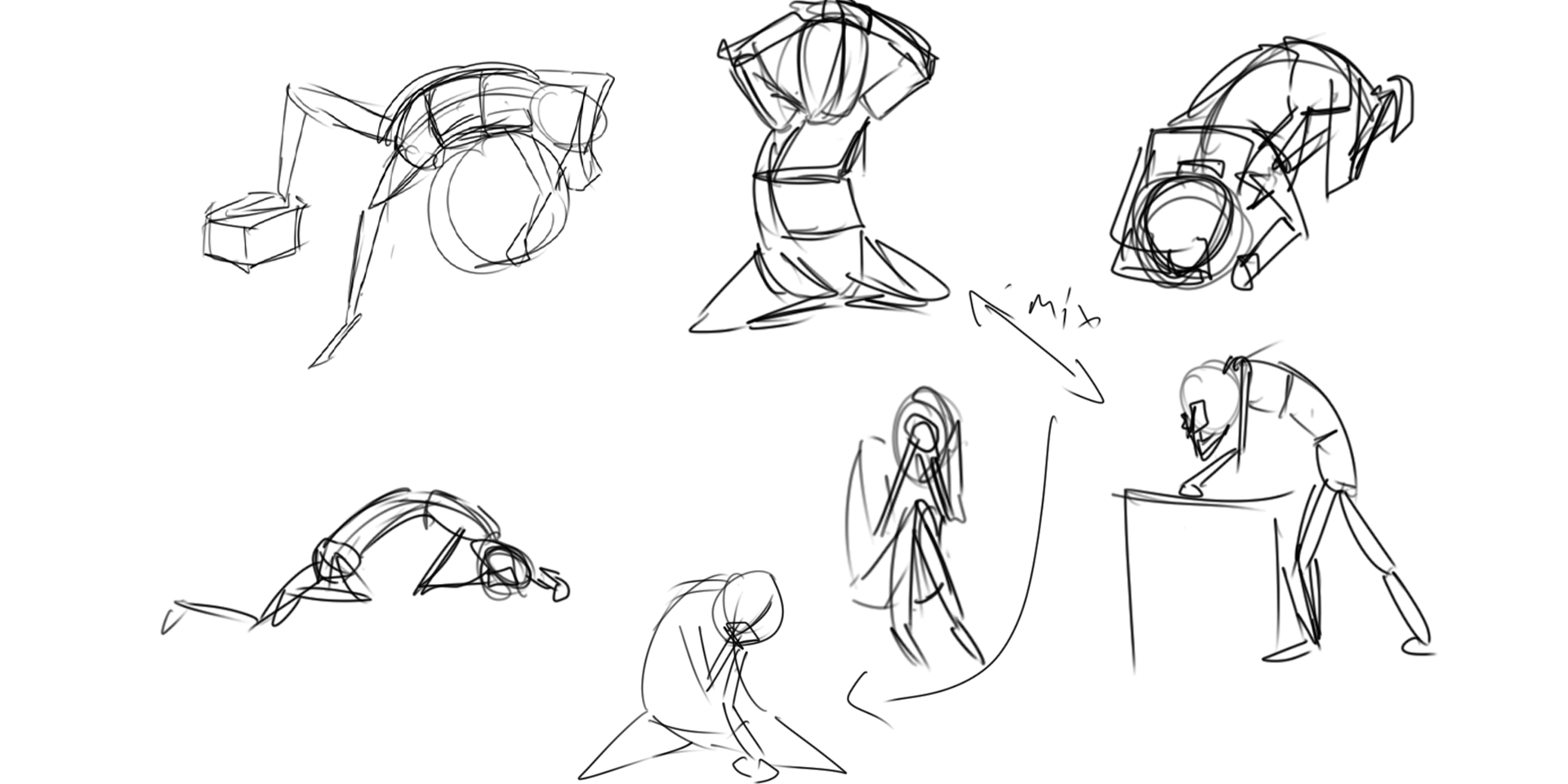 Devastation Sketches