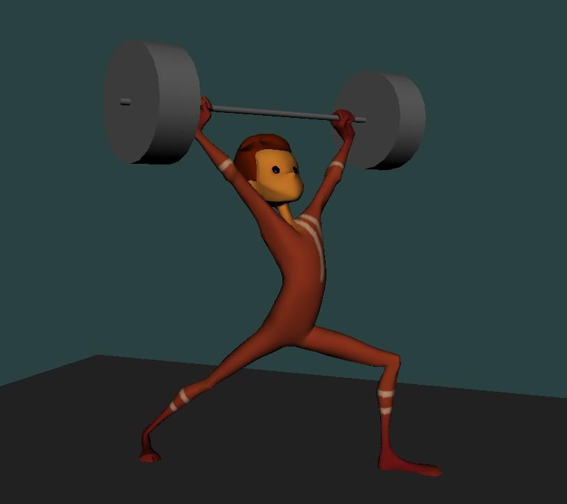 Strength Pose