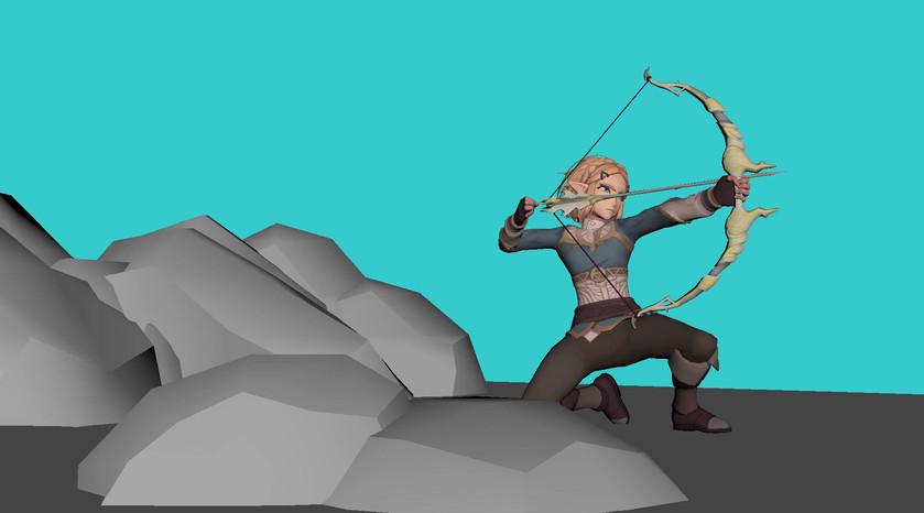 Zelda animation