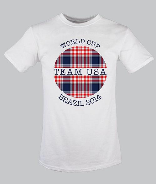 Team USA Globe Tartan
