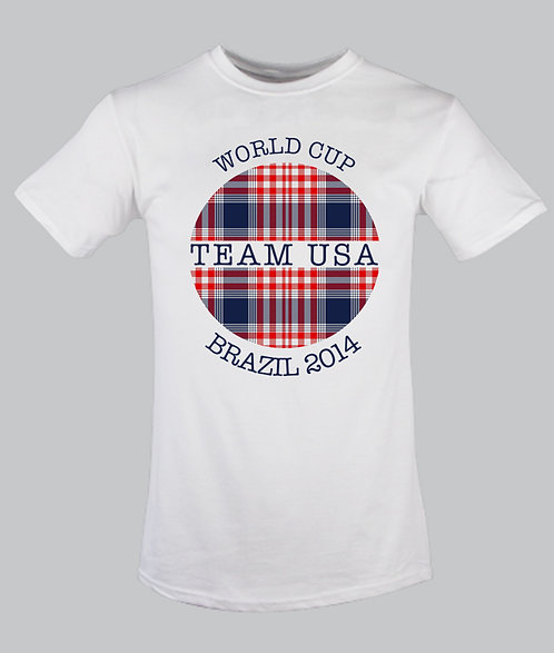 Team USA Globe Tartan for children 2-12 years old