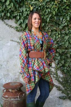 Ghana Tartan Outfit