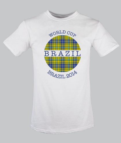 Brazil Globe Tartan for children 2-12 years old