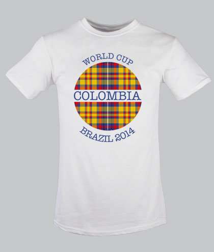 Colombia Globe Tartan for children 2-12 years old