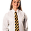 "Thumbnail: Girls white blouse, short or long sleeve Chest Size (24"" - 48"")"