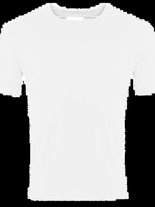 "White PE ""T"" shirt"