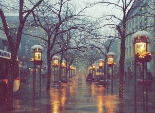 On rainy days...