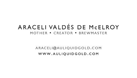 Au Liquid Gold: Business Card