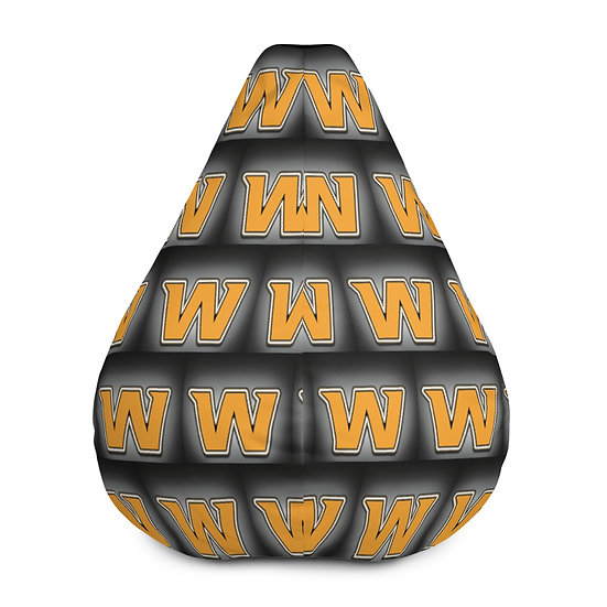 Washington Football Team Bean Bag Chair For Sports Fans, Man Caves, Home Decor
