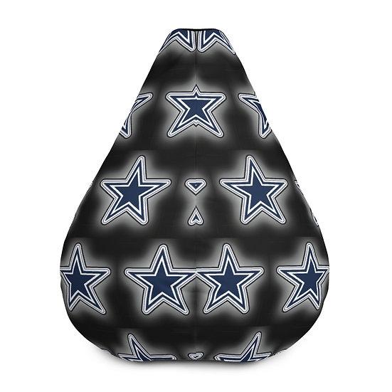 Dallas Cowboys Bean Bag Chair For Sports Fans, Man Caves, or Home Decor