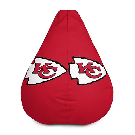 Kansas City Chiefs Bean Bag Chair For Sports Fans, Man Caves, or Home Decor