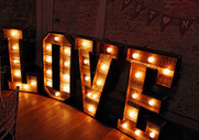 love letters hire rustic 4ft SMDISCOS.jp