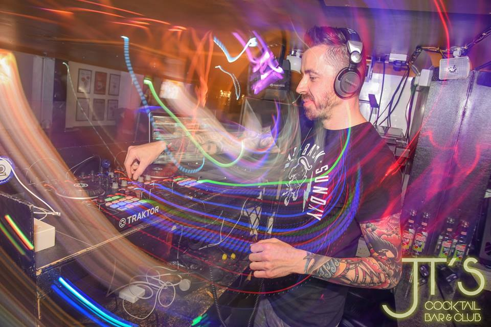 DJ Kai Stafford at JTs in Oxford
