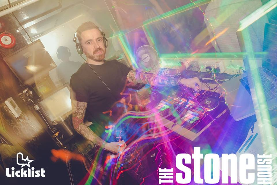 DJ Kai Stafford at The Stone House i