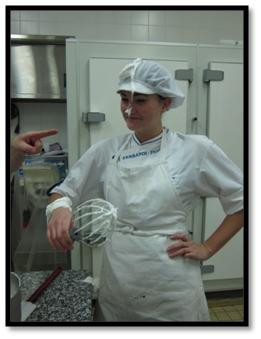 I'm a serious pastry chef. Very serious.