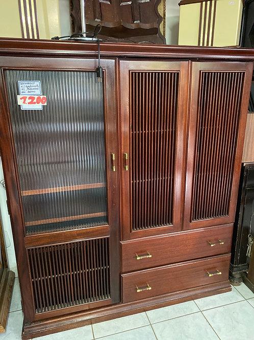 Antiguidade armário de TV