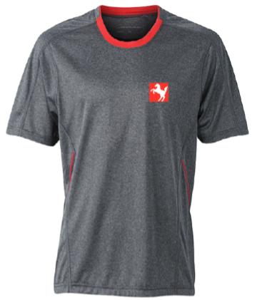 Funktions-Shirt Herren, grau