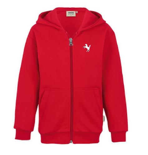 Sweatshirt Kinder, rot