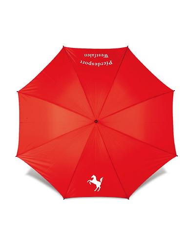 Regenschirm, rot
