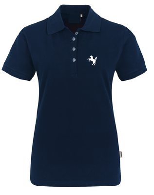 Team-Poloshirt Damen, navy